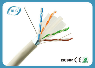 OFC Gaming 1000 FT Ethernet Kablosu / 23AWG PVC FTP Cat6 Ethernet Kablosu Gri